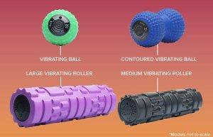 アスリート用電動マッサージボール 電動ローラー ボール型/ピーナツ型/中ローラー/大ローラー ※超振動ボール ※電動4段階+筋膜リリース ※クライマー検証済み
