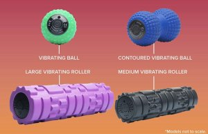 Vibrating Foam Roller(超振動フォームローラー) ボール/ピーナツ/Mローラー/Lローラー) ※電動4段階+筋膜リリース ※超振動3Dマッサージ ※クライマー検証済み