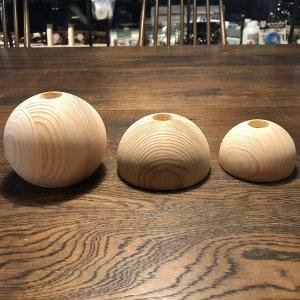 GATOWALLS(ガトーウォールズ) 3/4BALLS(3/4ボールズ) 10cm / HALFBALLS(ハーフボールズ) 8cm/10cm ※指皮に優しい木製 ※あらゆる手の大きさに対応