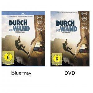 The Dawn Wall(ドーンウォール) 英語+ドイツ語版 Blue-ray / DVD(PAL方式) ※DVDはパソコン再生OK 通常プレーヤー未対応 ※メール便88円