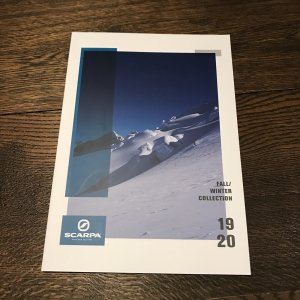 SCARPA(スカルパ) 2018winterカタログ ※メール便88円