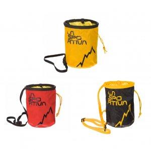 SPORTIVA(スポルティバ) LSP CHALK BAG(ラスポチョークバッグ) ※プロ仕様の純正チョークバッグ ※小物ポケット付き