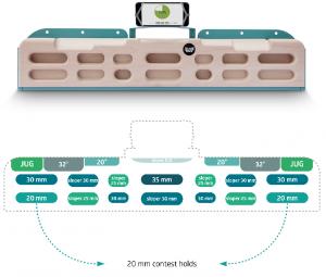 Zlagboard(ザラッグボード) EVO(エボ) ※スマホ連動トレーニングボード ※接触と荷重でアプリ管理