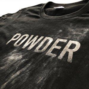TokyoPowderIndustries(東京粉末) POWDER TEE(パウダーティー) ※チョークで浮き出すTシャツ ※that's sickなデザイン ※メール便88円