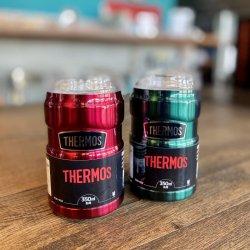 THERMOS(サーモス) 保冷缶ホルダー/ROD-002 ※350ml缶を保温 ※脱プラスチック ※飲み頃温度をキープ ※こぼれにくいマグとしても優秀