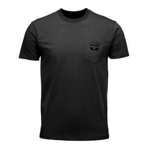 BlackDiamond(ブラックダイヤモンド) POCKET LABEL TEE(ポケットラベルティー) Mens ※快適な着心地のシンプルデザイン ※メール便88円