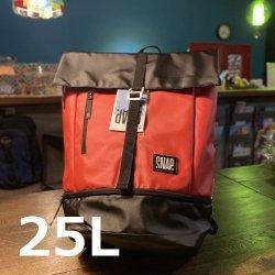 snap(スナップ) Roll Top(ロールトップ)25L ※斬新でスタイリッシュなデザインと確かな耐久性 ※ジムバッグに最適
