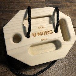 △DIGIT CLIMBING(ディジットクライミング) V-MOBS(モッブス) ※10種類以上の多彩なホールド ※指皮に優しい木製