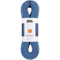 Petzl(ペツル) Contact Wall(コンタクトウォール) 9.8mm 30m/40m ブルー/グリーン ※軽量インドアクライミング用シングルロープ