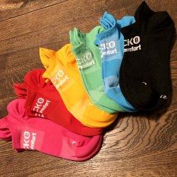 GECKO(ゲッコー) Ergo Comfort Active(エルゴコンフォートアクティブ) ※抗菌クライミングソックス ※選べる全6色  ※メール便88円