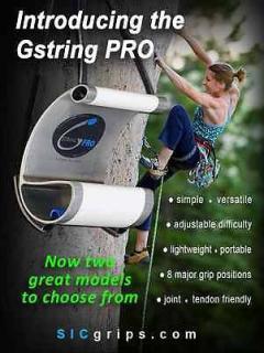 Gstring Pro(ジーストリングプロ) 本体/交換サンドペーパー/交換ロープ 2個1組 ※全ホールディングをトレーニング可 ※国内販売はグッぼるのみ