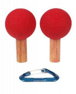ATOMIK(アトミック) PEG BOARD BALLS 3.5 inch (ペグボードボール3.5インチ) ※直径8.9cm ※2個1組