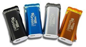 DRYGUY(ドライガイ) GreenHeat(グリーンヒート) ※充電カイロモバイルバッテリー ※5V1000mAh iPhone2回充電 ※5%OFF
