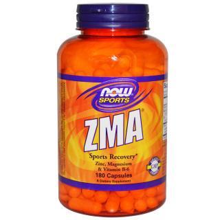 ZMA 180粒カプセル 亜鉛 マグネシウム ビタミンB-6 ※肉離れや痙攣に