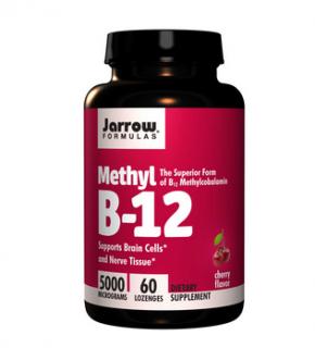 ビタミンB12 メチルコバラミン 5000mcg 60粒 チェリー味 ※神経修復に処方されるビタミン