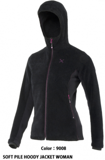 MONTURA(モンチュラ) SOFT PILE HOODY JACKET WOMAN (MJAP81W)
