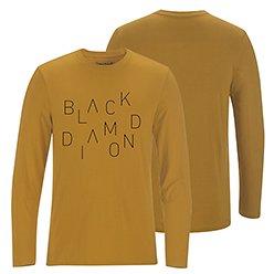 BlackDiamond(ブラックダイヤモンド) Mens ロングスリーブロゴティー ※メール便88円 ※展示品セール25%OFF