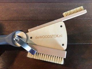 deWOODSTOK(ドゥウッドストック) アジャスタブルブラシ ※ワールドカップやBJCで使用