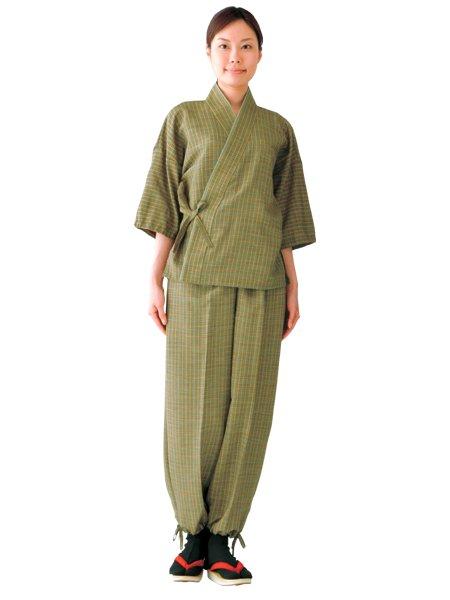 ちりめん女子作務衣パンツ SFW688