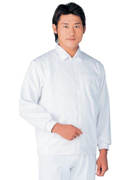 男女兼用ニットウェア白衣ホワイト SV1900-1