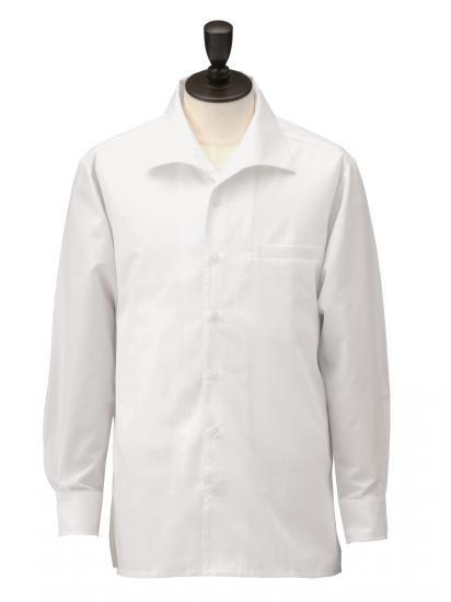 男子オープンシャツ 長袖 S4200