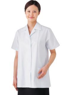 調理用白衣 | 女子半袖白衣綿 SKP337