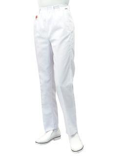 調理用白衣 | 女子綿白ズボン SKC480