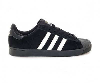 adidas skateboarding SUPERSTAR VULC ADV  BLACK/WHITE アディダススケートボーディング