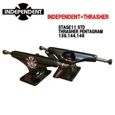 INDEPENDENT THRASHER  コラボ トラック STRAGE11 STD Pentagram 2個セット
