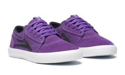 <img class='new_mark_img1' src='//img.shop-pro.jp/img/new/icons25.gif' style='border:none;display:inline;margin:0px;padding:0px;width:auto;' />LAKAI GRIFFIN KIDS /  PURPLE Suede LAKAI キッズ スニーカー スケボー シューズ