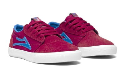 <img class='new_mark_img1' src='//img.shop-pro.jp/img/new/icons25.gif' style='border:none;display:inline;margin:0px;padding:0px;width:auto;' />LAKAI GRIFFIN KIDS /  RED BLUE Suede ラカイ キッズ スニーカー スケボー シューズ