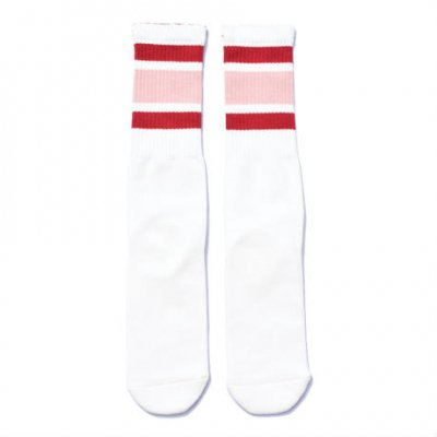 <img class='new_mark_img1' src='//img.shop-pro.jp/img/new/icons1.gif' style='border:none;display:inline;margin:0px;padding:0px;width:auto;' />SURF SKATE CAMP Tube socks Red