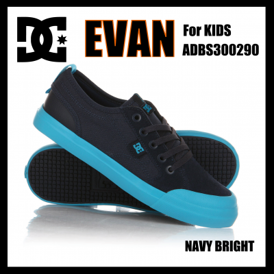 <img class='new_mark_img1' src='https://img.shop-pro.jp/img/new/icons24.gif' style='border:none;display:inline;margin:0px;padding:0px;width:auto;' />DC Shoes  EVAN Navy Bright ADBS300290 ディーシーキッズ