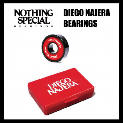 <img class='new_mark_img1' src='https://img.shop-pro.jp/img/new/icons43.gif' style='border:none;display:inline;margin:0px;padding:0px;width:auto;' />NOTHING SPECIAL DIEGO NAJERA BEARINGS  (8PACK)  ナッシングスペシャル ベアリング