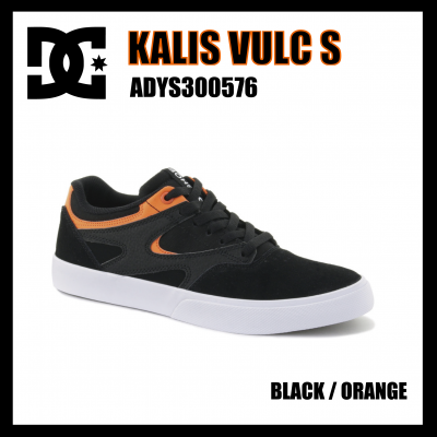 <img class='new_mark_img1' src='//img.shop-pro.jp/img/new/icons1.gif' style='border:none;display:inline;margin:0px;padding:0px;width:auto;' />DC Shoes  KALIS VULC S  Black / Orange  ADYS300576