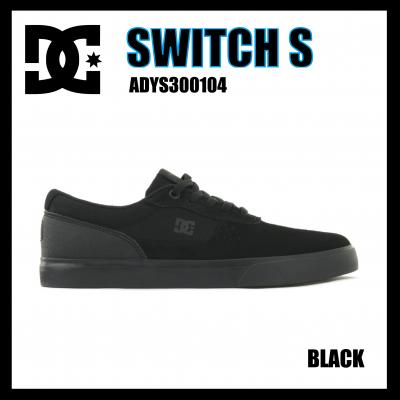 DC SHOES SWITCH S ADYS300104 BLACK ディーシースケートシューズ