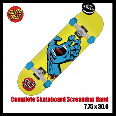 <img class='new_mark_img1' src='https://img.shop-pro.jp/img/new/icons20.gif' style='border:none;display:inline;margin:0px;padding:0px;width:auto;' />サンタクルーズ コンプリート スケートボード Santa Cruz Complete Skateboard Screaming Hand Mini 7.75