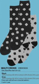 INDYPENDENT MULTI CROSS SOCK(1ペア)