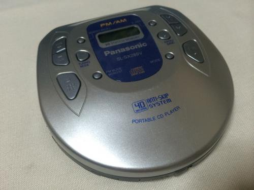 <img class='new_mark_img1' src='https://img.shop-pro.jp/img/new/icons16.gif' style='border:none;display:inline;margin:0px;padding:0px;width:auto;' />Portable CD Player  SL-SX289V