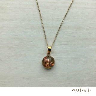 丸形ペンダント【ペリドット】