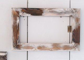 壁掛けウッドフレーム(長方形)受注製作