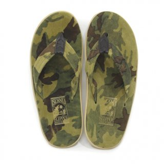 <img class='new_mark_img1' src='//img.shop-pro.jp/img/new/icons20.gif' style='border:none;display:inline;margin:0px;padding:0px;width:auto;' />【ISLAND SLIPPER】Thong Suede Camo