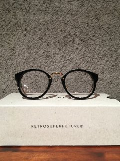 【SUPER BY RETROSUPERFUTURE】PANAMA BLACK CLEAR LENS