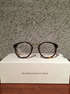 【SUPER BY RETROSUPERFUTURE】PANAMA HAVANA CLEAR LENS