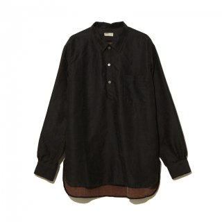 <img class='new_mark_img1' src='//img.shop-pro.jp/img/new/icons5.gif' style='border:none;display:inline;margin:0px;padding:0px;width:auto;' />【NAISSANCE】SILK PULLOVER LONG SHIRT