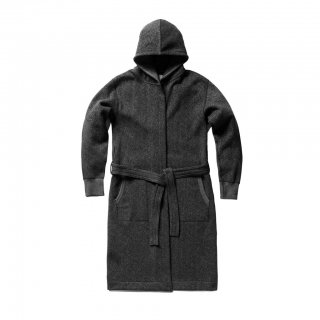【REIGNING CHAMP】HOODED ROBE - TIGER FLEECE