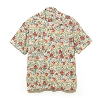<img class='new_mark_img1' src='//img.shop-pro.jp/img/new/icons5.gif' style='border:none;display:inline;margin:0px;padding:0px;width:auto;' />【NAISSANCE】BANKSIA PATTERN SHIRT