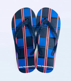 【White Mountaineering】× HAYN LARGE CHECK  Beach Sandal