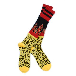 <img class='new_mark_img1' src='//img.shop-pro.jp/img/new/icons5.gif' style='border:none;display:inline;margin:0px;padding:0px;width:auto;' />【doublet】3 LAYERED LEOPARD SOCKS