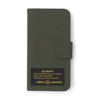 【uniform experiment】MIL FLIP CASE for iPhone 6,7,8